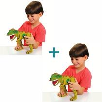 Dinossauro Tirano Rex Com Som - Adjomar