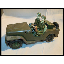 Jeep D Guerra D Lata Antigo Frete Gratis