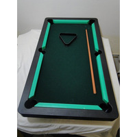 Mini Mesa De Sinuca/ Bilhar Snooker De Luxo Apenas A Mesa