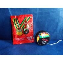 Antigo Ioio Coca Cola Zero Olimpíadas Com Embalagem Original