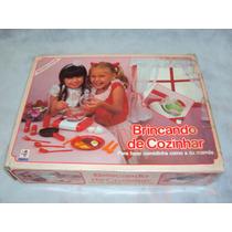 Brinquedo Antigo Raro Brincando De Cozinhar Da Mimo Funciona
