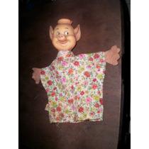 Fantoche Antigo Porquinho Walt Disney