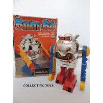 Brinquedo Antigo - Robô Bam-bô Da Estrela - Na Caixa (r 3)