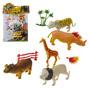 Animal Selvagem Plastico 5 Peças 11cm Frete Grátis
