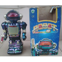 Robô Sonic Tv Raríssimo Com Caixa