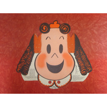Máscara Infantil Antiga Papel Luluzinha Carnaval Fantasia