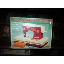 Brinquedo Antigo Máquina De Costura Da Estrela Caixa Manual