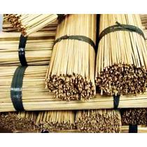 Vareta De Bambu 55 Cm P/ Pipas Raias Com 800/1000 Unidades