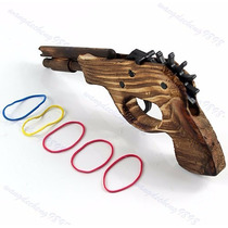 Arma Brinquedo.pronta Entrega! Disparador De Elásticos.
