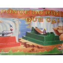 Jogo A Ponte Do Rio Que Cai - Brinquedo Antigo - Completo !