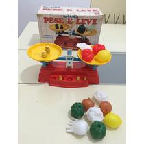 Brinquedo Antigo Balança Pese E Leve Da Bandeirantes