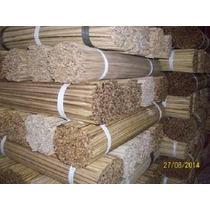 Vareta De Bambu 60cm Com 800/900 P/ Pipas E Etc...