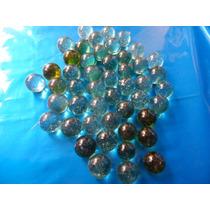 120 Bolinhas De Vidro Gude Fubeca Burica Bolão 26mm* 10 Dz