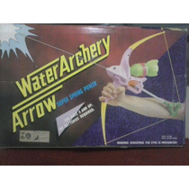 Brinquedo Antigo Arco E Flecha Que Dispara Água