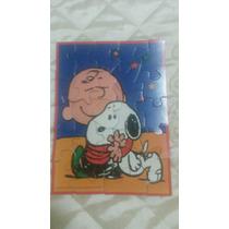 Quebra Cabeça Snoopy Anos 80 Brinquedo Antigo