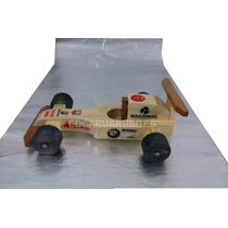 Carrinho Madeira F1 Brinquedo Brinde Artesanal Personalizado