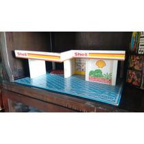 Brinquedo Antigo Estrela Posto De Gasolina Shell