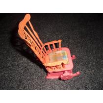 Antiga Cadeira Balanço Boneca Susi Corda Funciona