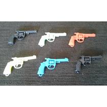 Brinquedos Antigos Faroeste Pistolas Pequenas E Coloridas