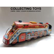 Brinquedo Antigo - Trem De Lata - Made In Japan - 70