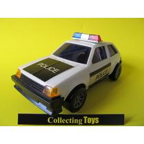 Brinquedo Antigo - Ford Escort Polícia - Glasslite - Raro!
