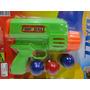 Pistola Brinquedo Bolinha Ping Pong Robocop Fantasia Policia