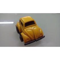 Transformers Robocars Estrela Anos 80 Fusca Amarelo Completo