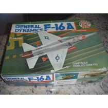 F-16 Controle Remoto - Brinquedos Rei