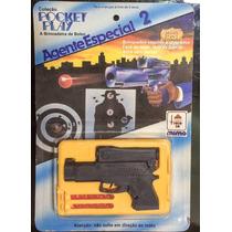 Brinquedo Lembrancinha Mini Revolver Atira Que Bolinhas Mimo
