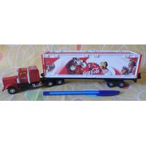Antigo Caminhão Promocional De Natal Coca-cola - Impecável!!