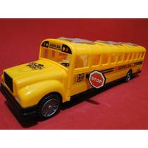 Onibus Escolar School Bus Estilo Bate Volta Som Eletronico