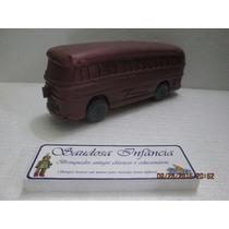Antiga Miniatura Onibus Plastico Bolha Era R$90,00