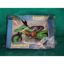 Antiga Moto Kawakid´s Motocross Da Brinquedos Cardoso