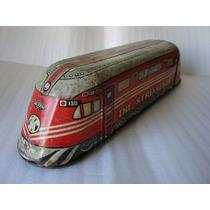 Antigo Brinquedo Marca Wolverine Usa - Trem Streamliner Lata