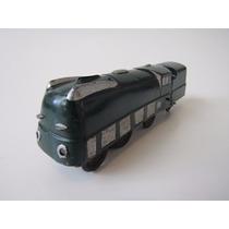 Brinquedo - Antigo Trem A Corda De Chapa - Locomotiva