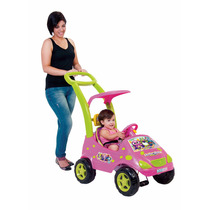 Roller Baby Musical Monster Rosa Estofado Magic Toys Oferta