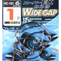 Anzol Wide Gap Nº 1 (1,07mm) - Pesca De Robalo