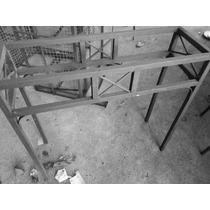 Aparador Em Ferro A Pronta Entrega S Vidro Med.90x30x85 Altu