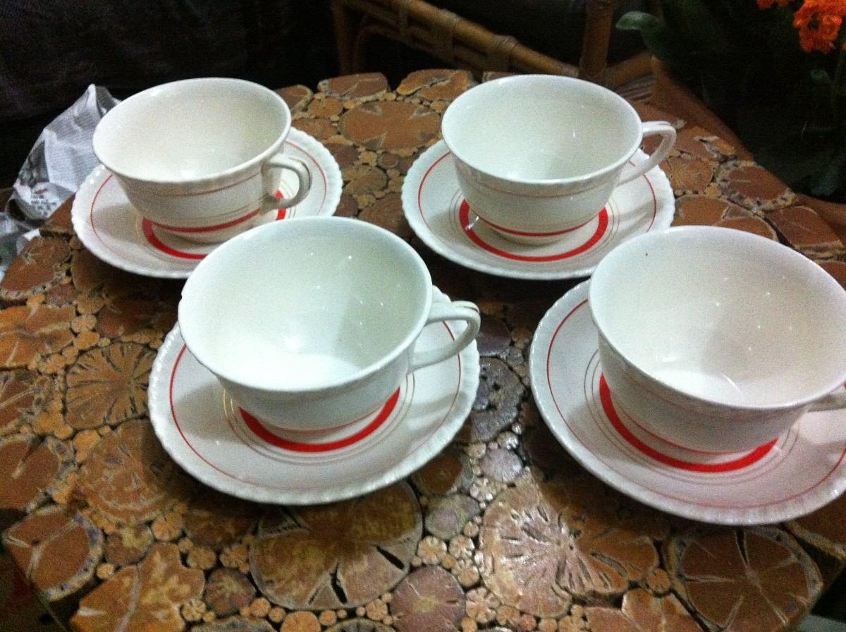 Aparelho De Jantar Chá E Café Completo Porcelana Inglesa R$ 1  #AD231E 1200x896