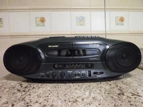 Aparelho De Som 3 Em 1 (cd,toca-fitas E Rádio). Cd Estragado
