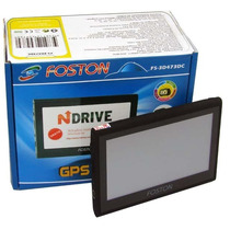 Gps Automotivo Foston 3d 473 Tv Digital E Câmera De Ré
