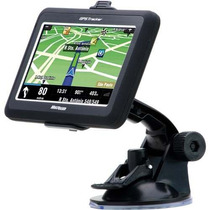 Gps Automotivo Multilaser Tela 4,3 Tracker Slim Mp3 Radar