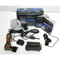 Rastreador E Bloqueador Gps/gprs/gsm/sms Veicular Tk-103a
