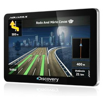 Navegador Gps Discovery Channel 4.3 Pol. Slim Mtc 2420