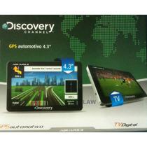 Gps Automotivo, Tv Digital, Mp3, 4.3 500mhz, 128mb, 480x272