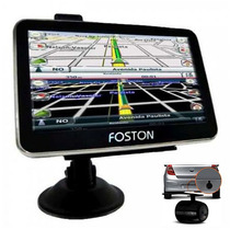 Gps Foston Fs 3d 717 Camera De Ré Tv Digital Tela 7 Full Hd