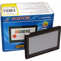 Gps Foston Fs-3d473dcs + Cam Ré +tv Digital/radio/mp3/mp4+nf