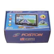 Gps Automotivo Foston Tela 7 Tv Digital, Radar, Atualizado