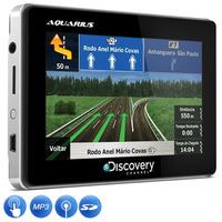 Gps Automotivo Discovery 4.3 Polegadas Slim Touch Portatil