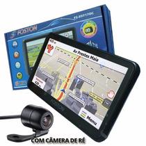 Gps Foston Fs-3d717dc 7 Camera Ré Tv Dig S/ Juros( Promoção)
